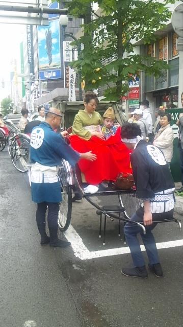 140616 142608 北海道神宮例祭 神輿渡御♪【短期バイトのお仕事】
