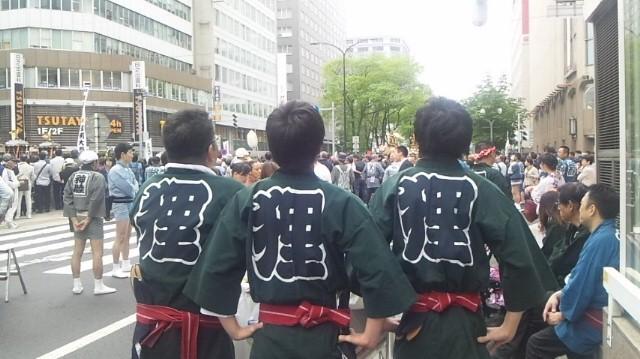 140616 1455161 北海道神宮例祭♪【人力車】