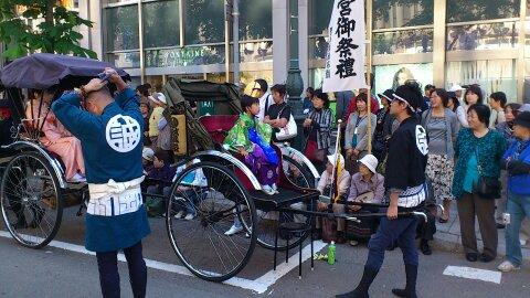 syatyou2 祭りじゃ~!!!
